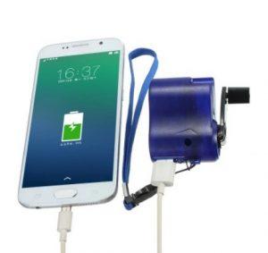 Un chargeur manuel pour les smartphones